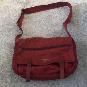 Authentic Prada Messenger Bag!